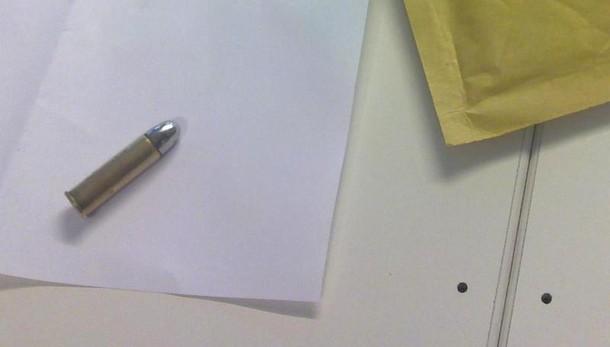 Proiettile in busta a ex vertci Etruria