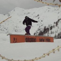 San Simone al completo C'è anche lo snow park