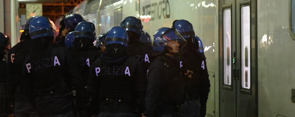 Disordini Atalanta-Inter - Video Nove ultrà arrestati, contusi 7 agenti