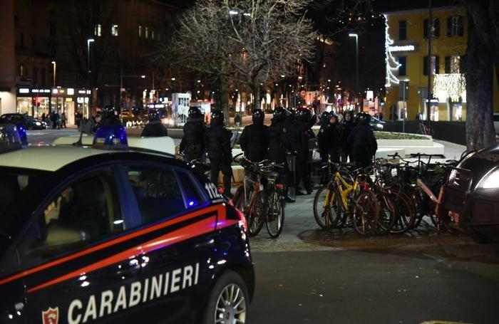 Forze dell'ordine su chi va là dopo Atalanta-Inter