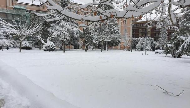 Maltempo: allerta, neve e vento al Sud