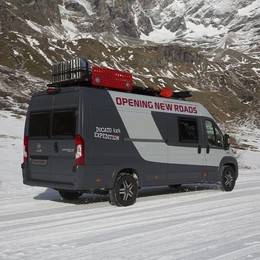 Da Fiat Ducato 4X4 nasce il Camper Van Expedition