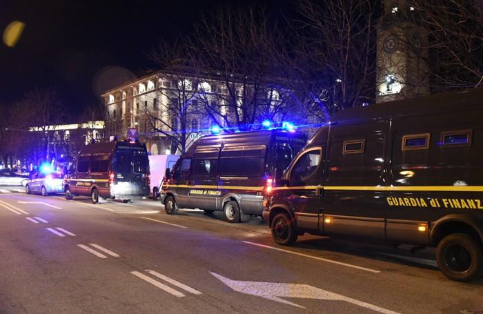 Tante forze dell'ordine per Atalanta-Inter