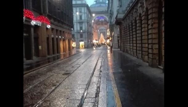 Smog, finalmente piove a Milano e a Roma