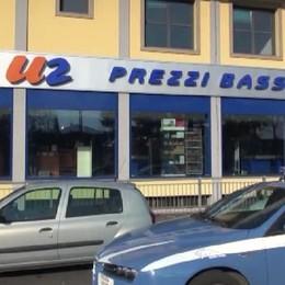Treviglio, rapina al supermercato U2