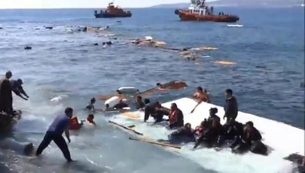 17 bambini vittime dei 2 naufragi Grecia