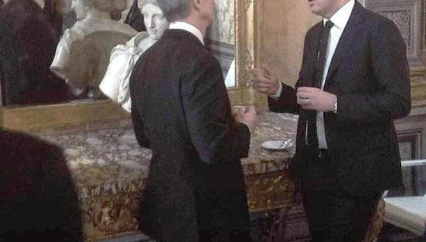 Apple: Tim Cook a P.Chigi incontra Renzi