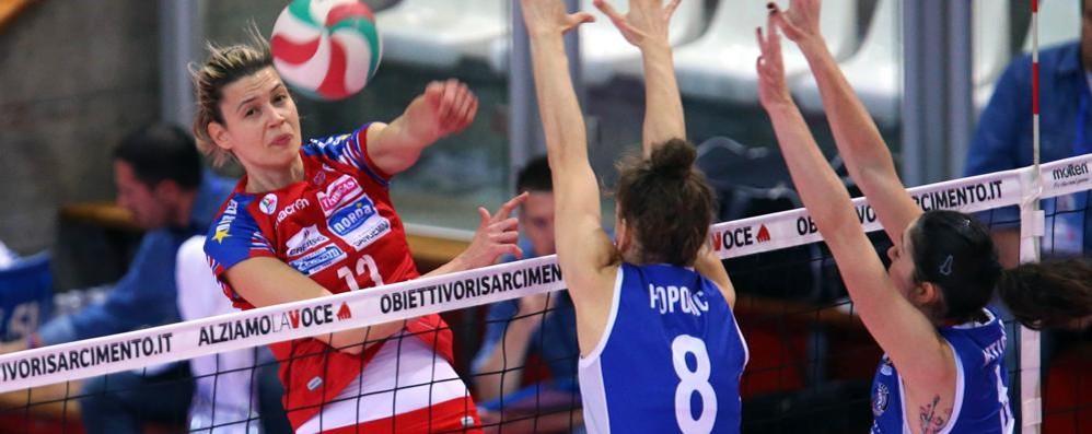La Foppa va a Casalmaggiore Sfida alle campionesse d'Italia