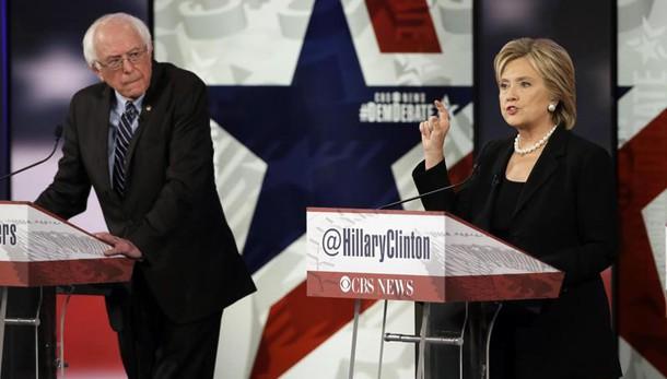 Usa 2016: Sanders stacca Hillary in Iowa