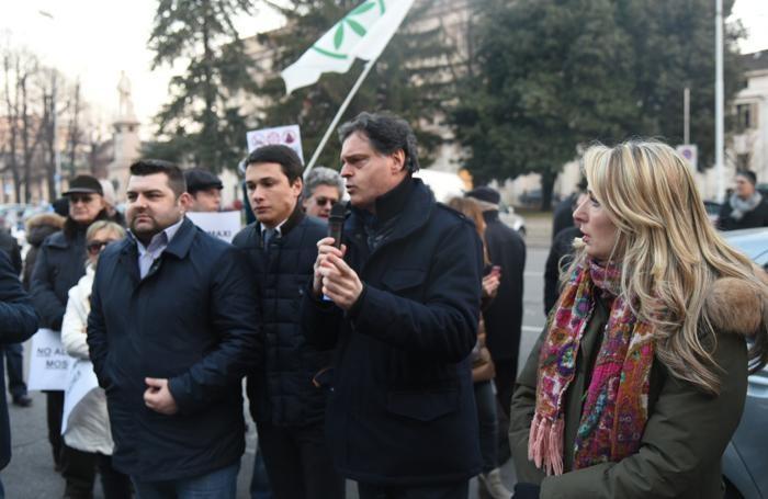 Da sinistra: Sorte, Fontana, Benigni e Beccalossi