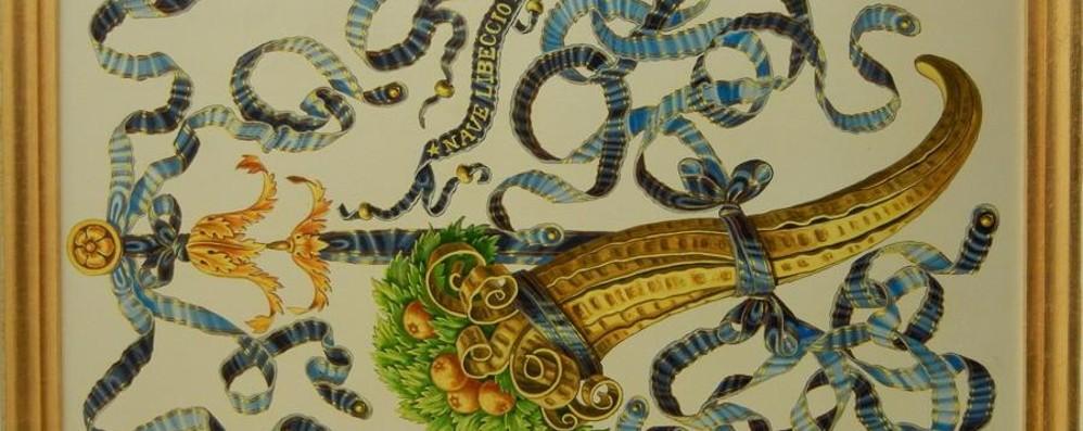 Gazzaniga, l'artista Masserini decora due navi della Marina