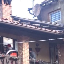 Peia - In fiamme una palazzina: un appartamento inagibile