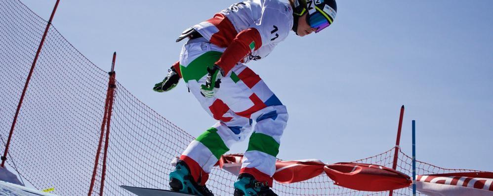 Snowboard, Moioli ancora sul podio Seconda sabato, terza domenica