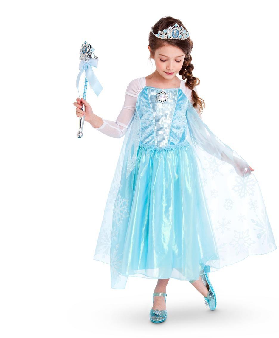 Costume di carnevale: amatissimo il personaggio di Elsa del cartone animato Frozen