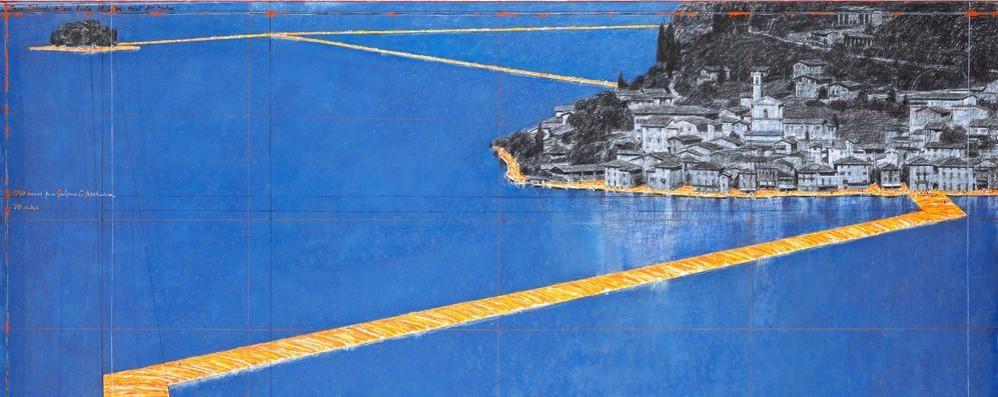 Christo e il ponte galleggiante sul lago Legambiente: no parcheggi, sì al treno