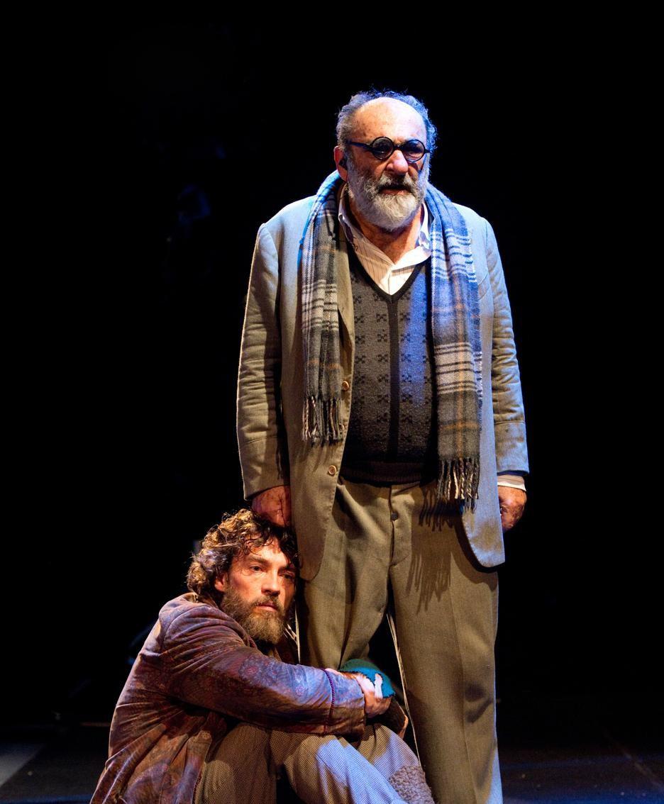 Alessandro Haber e Alessio Boni, foto Tommaso Le Pera