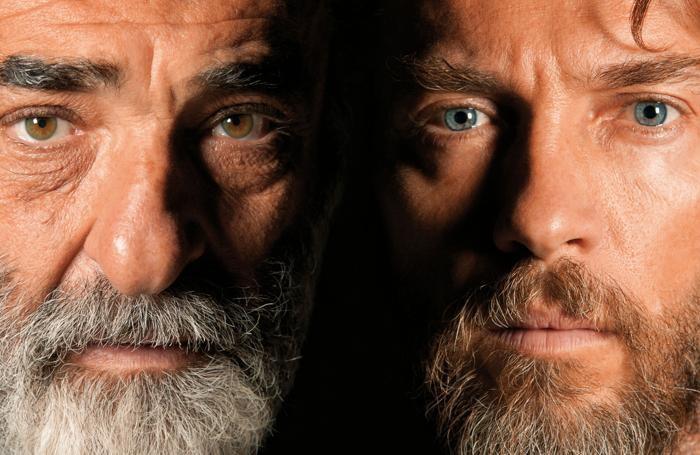 Haber (a sinistra) e Boni nel «Il visitatore»