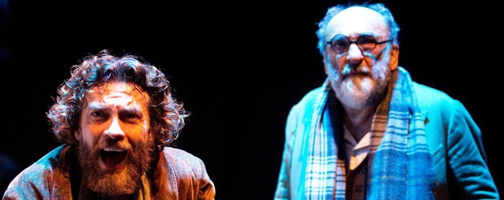 Haber e Boni insieme al Donizetti A teatro Freud riceve la visita di Dio