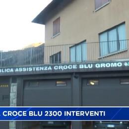 Gromo, Croce Blu oltre 2300 interventi