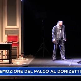 Alessio Boni al Donizetti:Teatro di casa, emozione unica