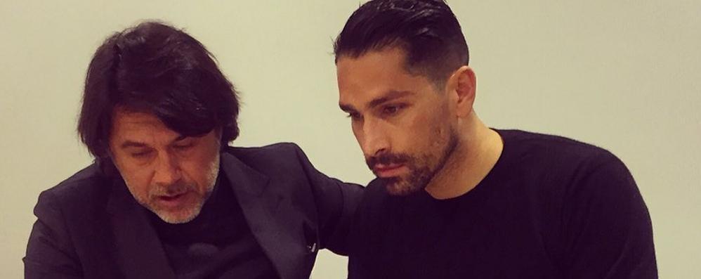 L'Atalanta ha preso Borriello La foto su Twitter: «Sono felice»