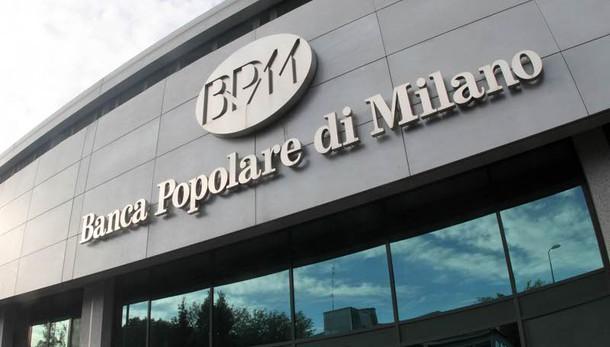 Più vicina fusione Bpm-Banco. ok governo