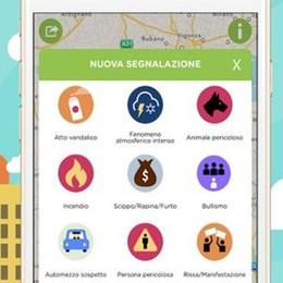 Sentinelle social contro furti e rapine Bergamo in tempo reale con Shelly App