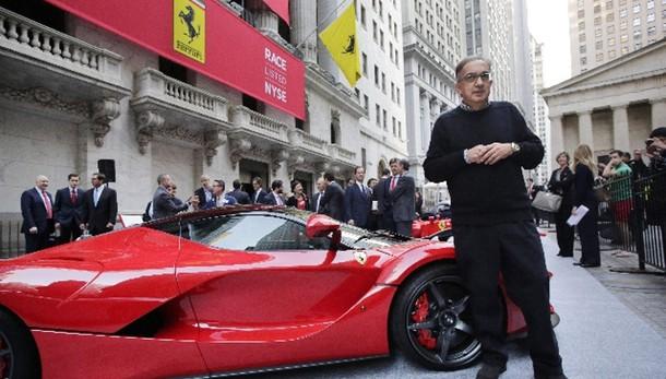 Ferrari: Renzi a cerimonia quotazione