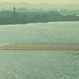 Anche Renzi per il ponte di Christo? I lavori procedono a gran ritmo