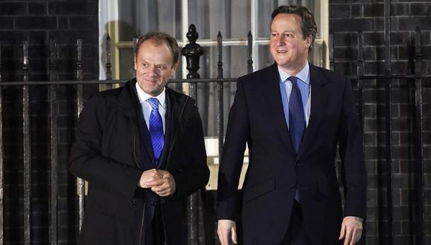 Brexit: niente accordo Cameron-Tusk