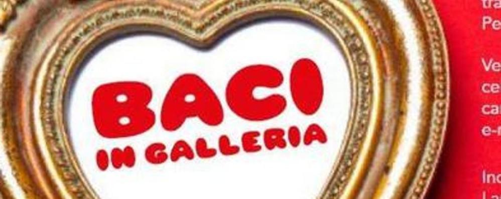 Festeggia San Valentino alla Gamec Torna la serata dei «baci in Galleria»