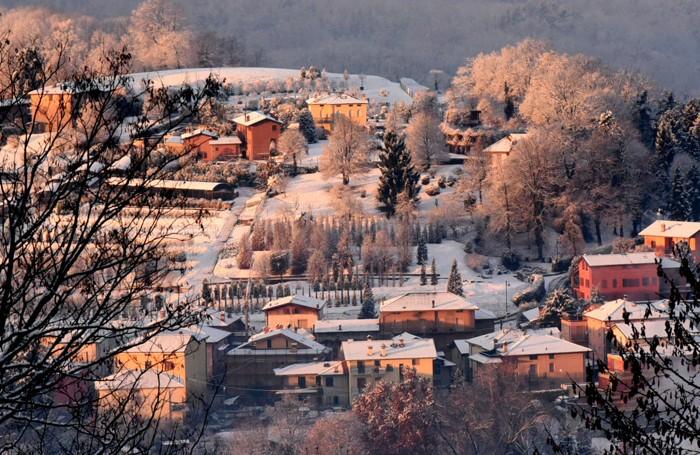 neve sui colli