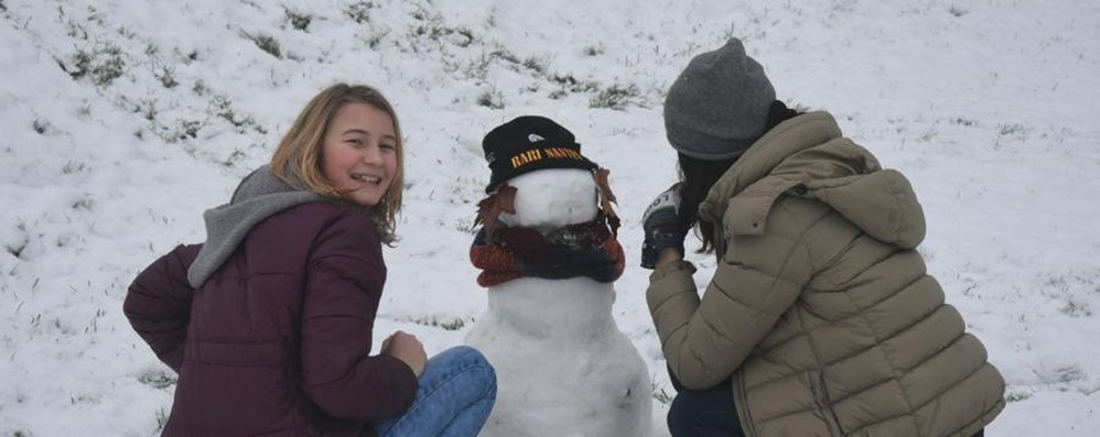 Che meraviglia, la neve! - foto e video Giù lo smog, il sorriso dei bambini