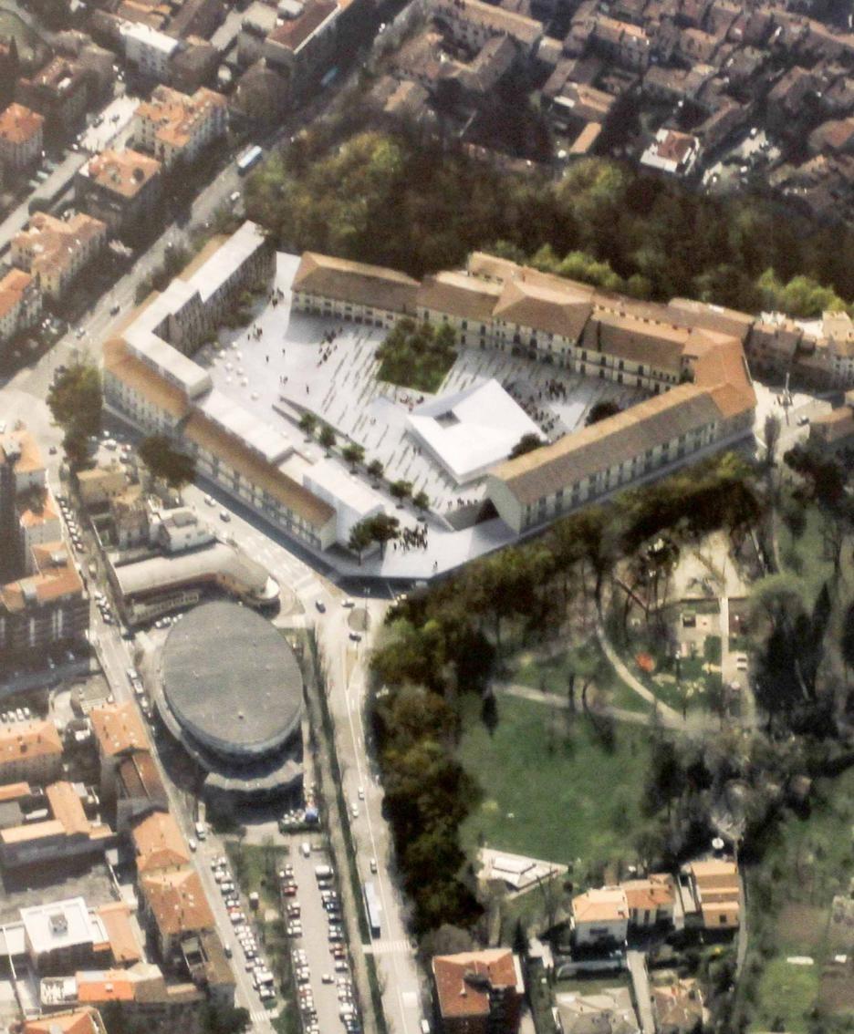 Un progetto per la caserma Montelungo
