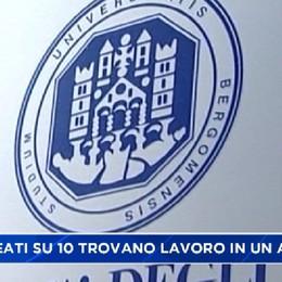 Bergamo meglio del resto d'Italia: il 70% dei laureati lavora entro il primo anno