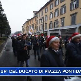 Gli auguri del Ducato di piazza Pontida alle autorità di città e provincia