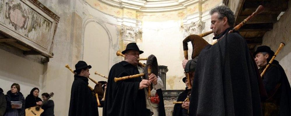 Musica domenica a Casnigo  Grande incontro coi suonatori di baghèt