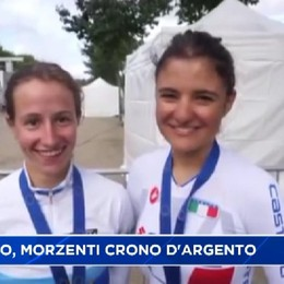 Ciclismo, cronometro d'argento per Lisa Morzenti