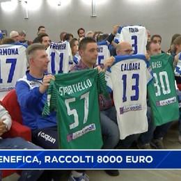 Asta benefica maglie Atalanta, raccolti 8000 euro