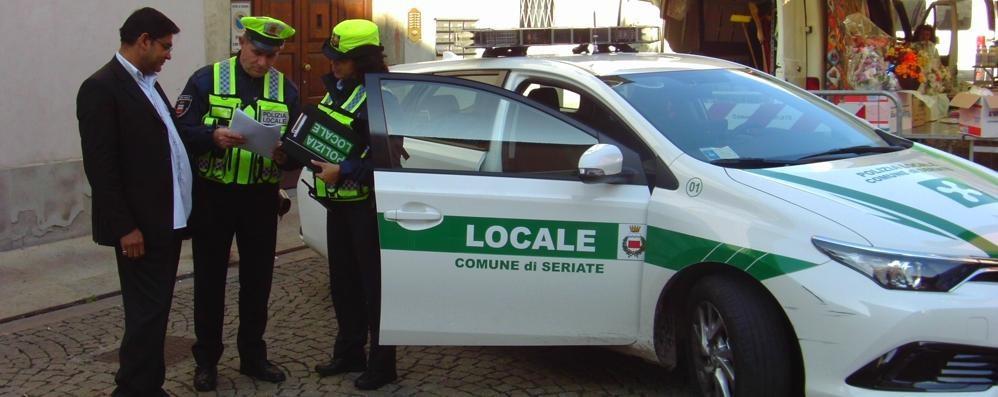 Seriate, spray antiaggressione per gli agenti della polizia locale