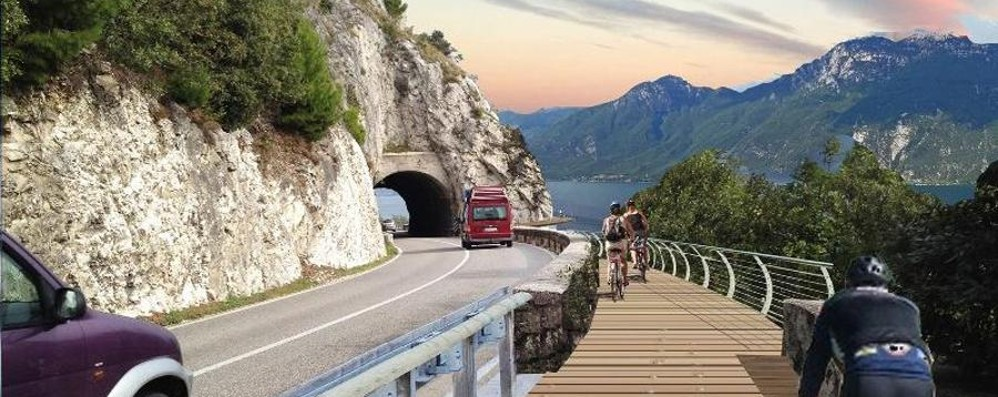 Sul Garda la ciclabile «più bella d'Europa» Ma anche la Bergamasca si difende