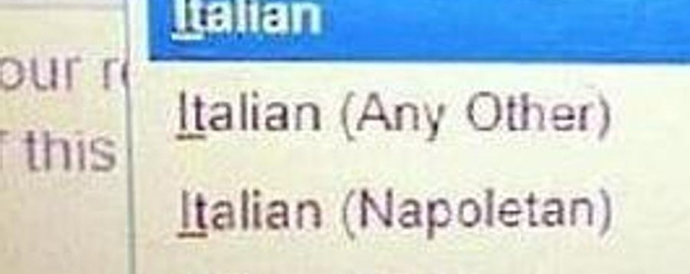 You're italian? Or sicilian, napoletan... Arrivano le scuse degli inglesi