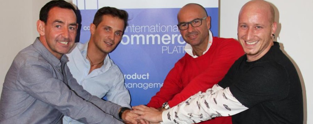 Una start up bergamasca scala l'Olimpo dell'e commerce
