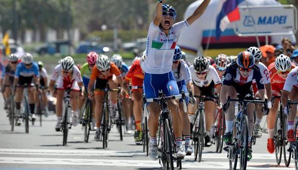 Ciclismo: Mondiali, oro per la Balsamo