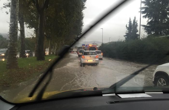 La circonvallazione di Bergamo