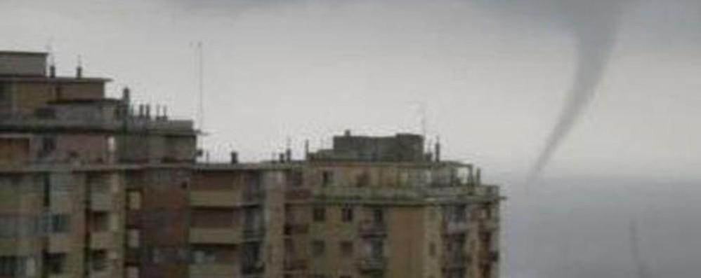 Sarà un sabato di pioggia, domenica no  Tromba d'aria su Genova - Video
