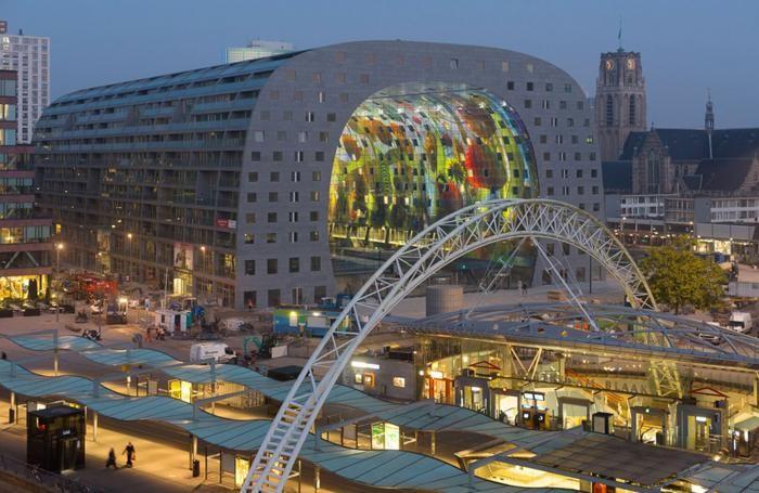Markthal, gioiello di Rotterdam