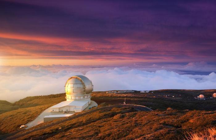 L'osservatorio delle Canarie