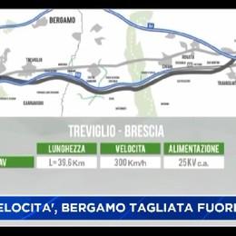 Alta velocità: Bergamo resta a guardare