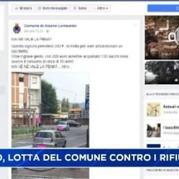 Alzano Lombardo, sacchetto di rifiuti costa 200 euro di multa